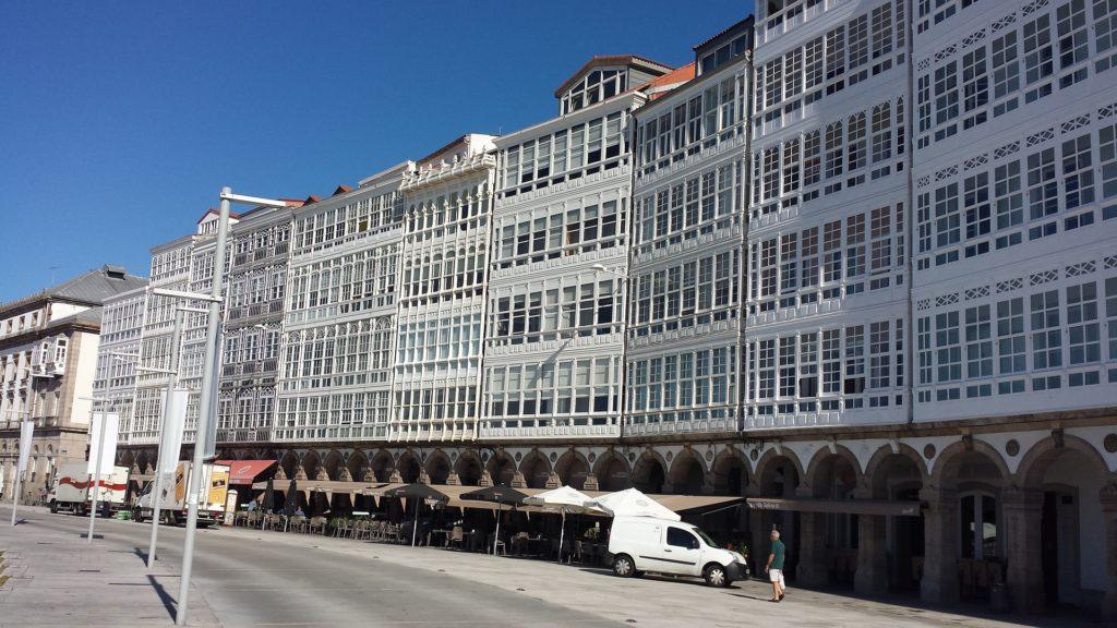 Avenida de la Marina, A Coruña.