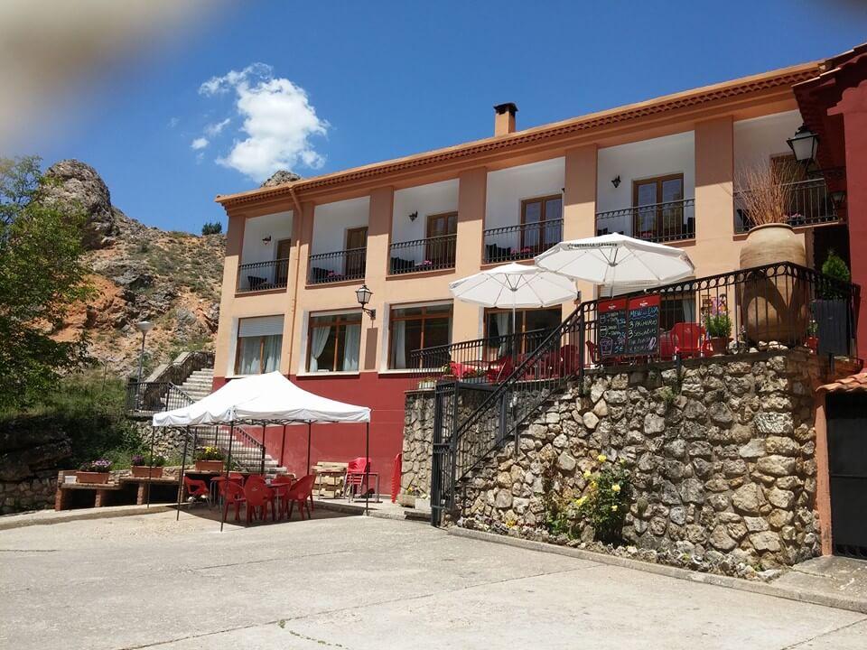 Hotel La Casa Grande fachada. Escapada de fin de semana a Cuenca.