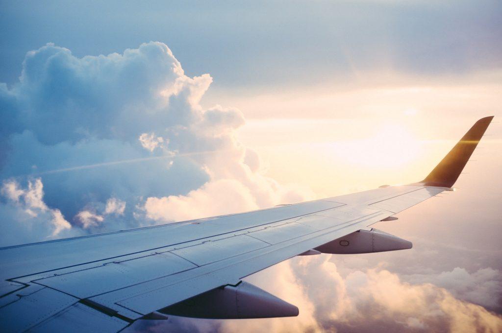 Viajar en avión. TotalFood